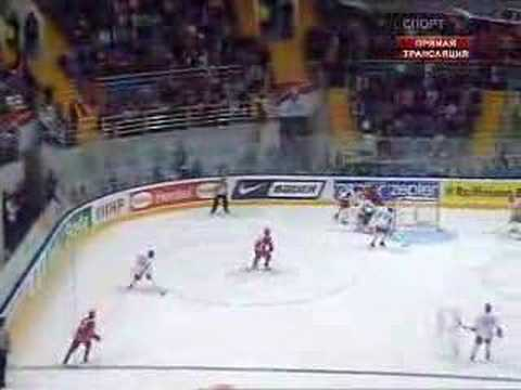 Russia Ice Hockey Team in Moscow 2007