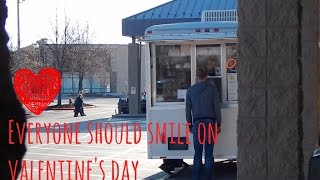 Making People Smile on Valentine