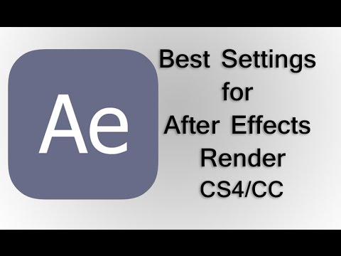 Adobe After Effects CC Best Render Settings | Fast Render | Bangla Tutorial