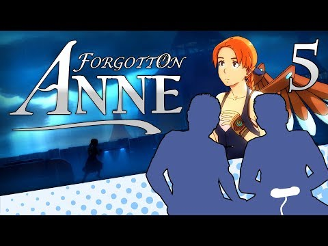 Forgotton Anne - PART 5 - The Good Kind of Train Wreck - Let's Game It Out |