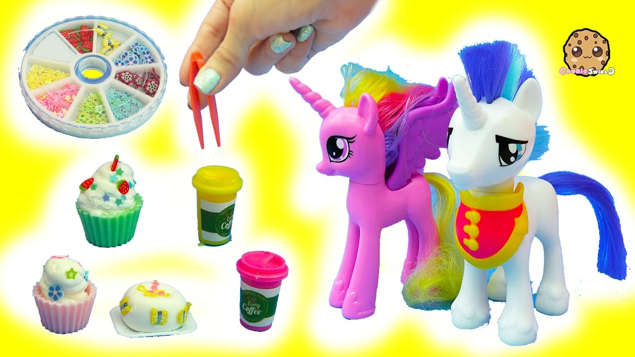 Making Tiny Clay Cupcakes For My Little Pony Shining Armor Princess Cadance MLP