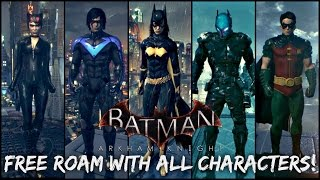One of CabooseXBL's most viewed videos: Batman Arkham Knight: How to Free Roam with All Characters!