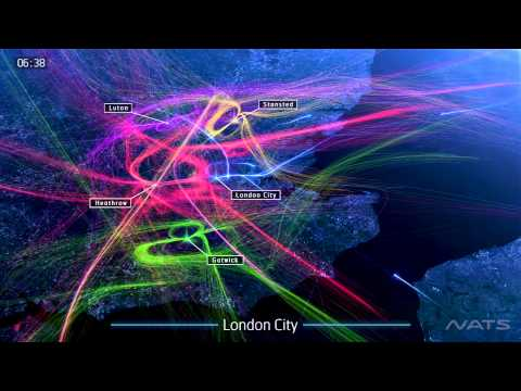 NATS - London 24 - Layers of London air traffic