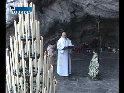 Chapelet de Lourdes du jeudi 10 déc. 2015