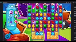 Candy Crush Soda Saga Level 555 (Super Hard Level)