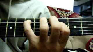 How to play Black Sabbath `Sleeping Village`accustic guitar intro