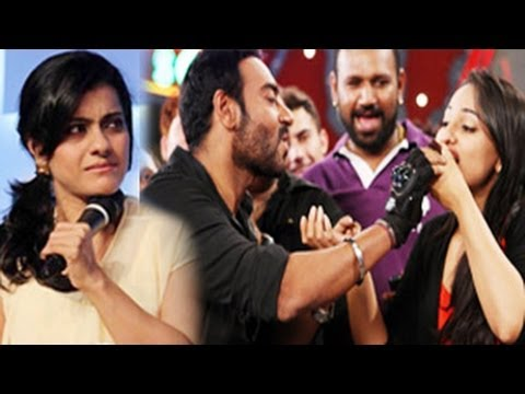Kajol FIGHTS with Sonakshi Sinha over Ajay Devgn