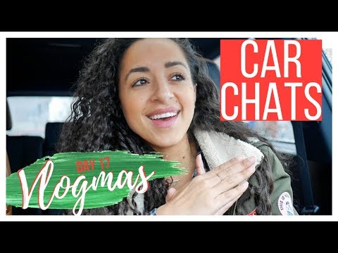 CAR CHATS: RETREAT, ONLINE COACHING & YOUR NEW FITNESS PROGRAM FOR THE NEW YEAR || VLOGMAS 23, 2017