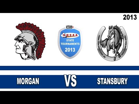 Court#2 Morgan vs Stansbury High School 2013 State 3A Volleyball Tournament