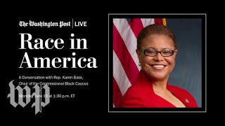 Karen Bass On Reforms To Curb Police Brutality And End Racial Profiling (Full Stream 6/15)