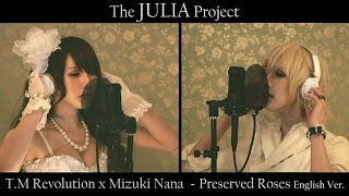 Gambar cover T.M Revolution x Mizuki Nana - Preserved Roses English Ver. (Symphonic Metal Girl Cover)