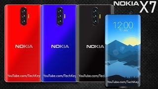 Nokia X7 - 29 MP Triple Camera, Under Display Fingerprint Scanner @ 20,000 Rupee/ $290 (Concept)