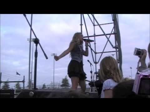 """Savannah Outen - """"Goodbyes"""" - August 8, 2009 - Cure JM Concert"""
