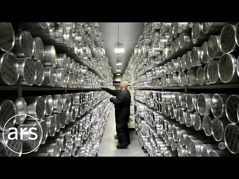 Antarctic ice core research at USGS National Ice Core Lab | Ars Technica