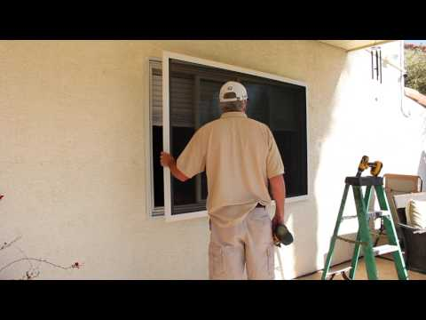 Security Screen Installation