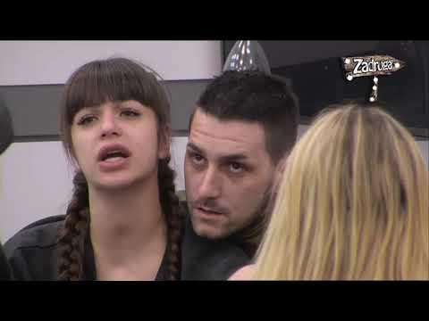 Zadruga 2 - Marija i Miljana se ponovo raspravljaju zbog Zole - 02.02.2019.