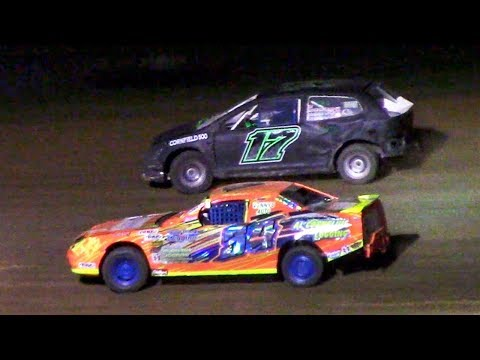 Mini Stock Feature | McKean County Family Raceway | 6-16-18