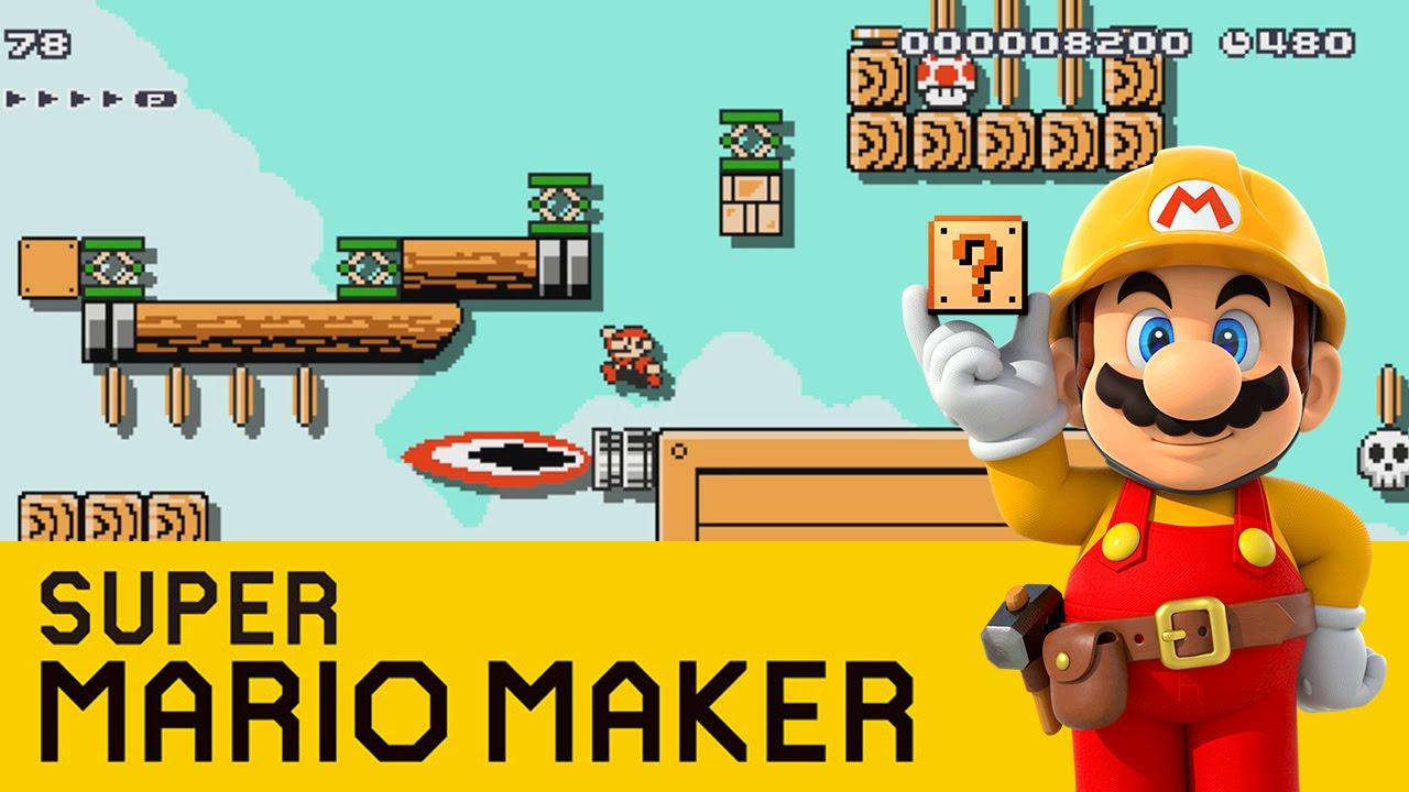 Super Mario Maker - Level For Sqaishey (2) Doovi