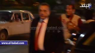 بالفيديو والصور.. وصول محافظ الجيزة لاحتفالية ذكرى الثورة بحديقة امبابة