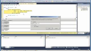 Debugging in SSMS 2008 and 2012 Part II