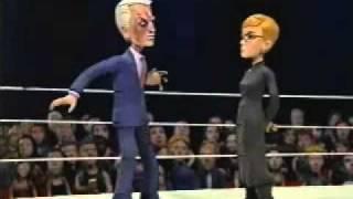 Celebrity Deathmatch - Bob Barker vs. Anne Robinson