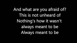 "Tonight Alive-""What Are You So Scared Of? (Acoustic)"" Lyrics"