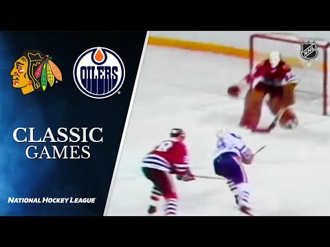 NHL Classic Games: 1983 Conference Final, Gm1: Blackhawks Vs Oilers