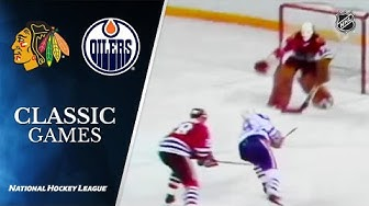 1983 Conference Final, Gm1: Blackhawks vs Oilers