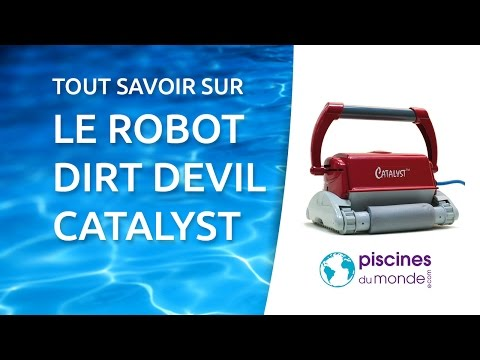 Robot de piscine dirt devil catalyst youtube for Robot piscine dirt devil