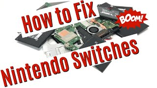 Fixing Nintendo Switches   Lot Of 5 Update