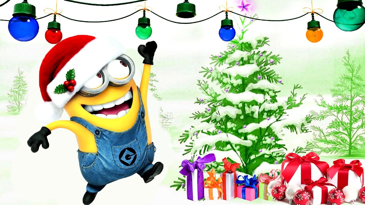 minions happy new year video for kids cartoon disney coloring