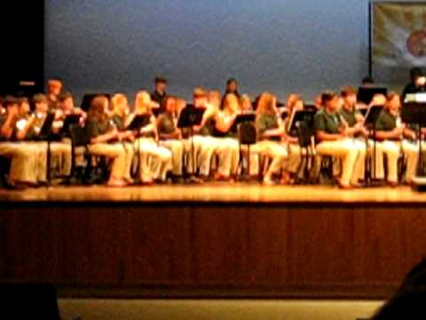 Helena Middle School Band Performance 2011