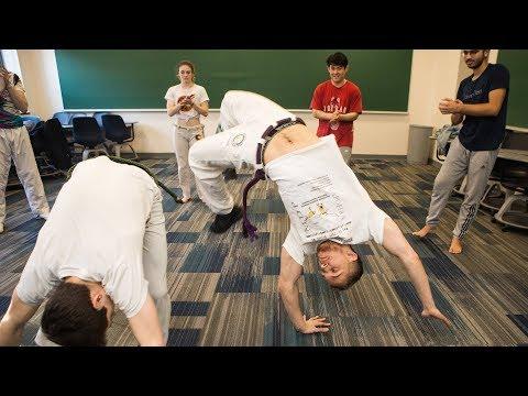 BU Capoeira Club Combines Dance, Acrobatics, Music