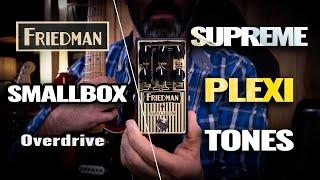 Friedman SMALLBOX Overdrive - Music & Demo by A. Barrero