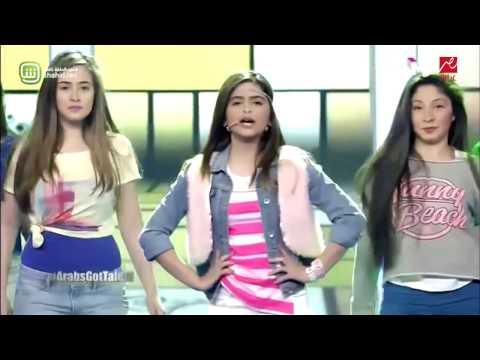 Hala al Turk In Arabs Got Talent English Songحلا الترك في ارب قوت تالنت
