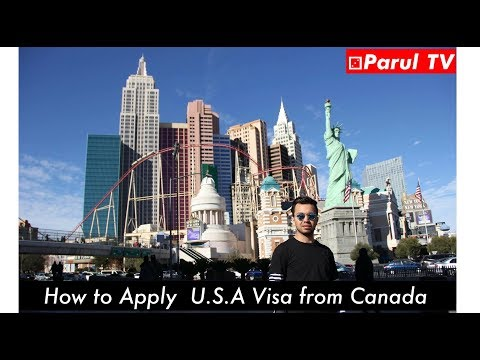 How To Apply USA Tourist Visa As A Student In Canada Hindi Vlog