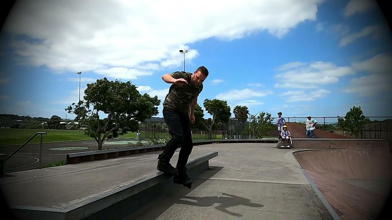 Aaron Martin- Old clips Aggressive Skating
