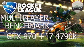 Rocket League | GTX 970 + i7 4790K | Benchmark (1080p60fps)