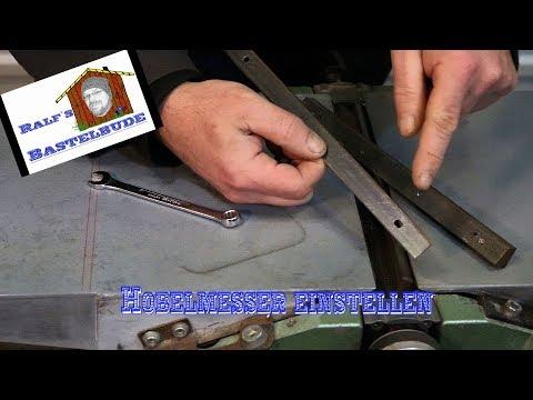 Hobelmesser einstellen / install planer blades HC260 Elektra Beckum