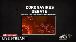 National Assembly debates coronavirus