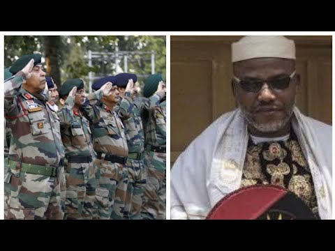 BIAFRA WAR: NNAMDI KANU WELCOME ISRAELI ARMY TO BIAFRA LAND TODAY. SEE WHAT HAPPENED NEXT.