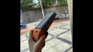 더블 배럴 에어팟 실리콘 총 모양 케이스 선물 악세서리…
