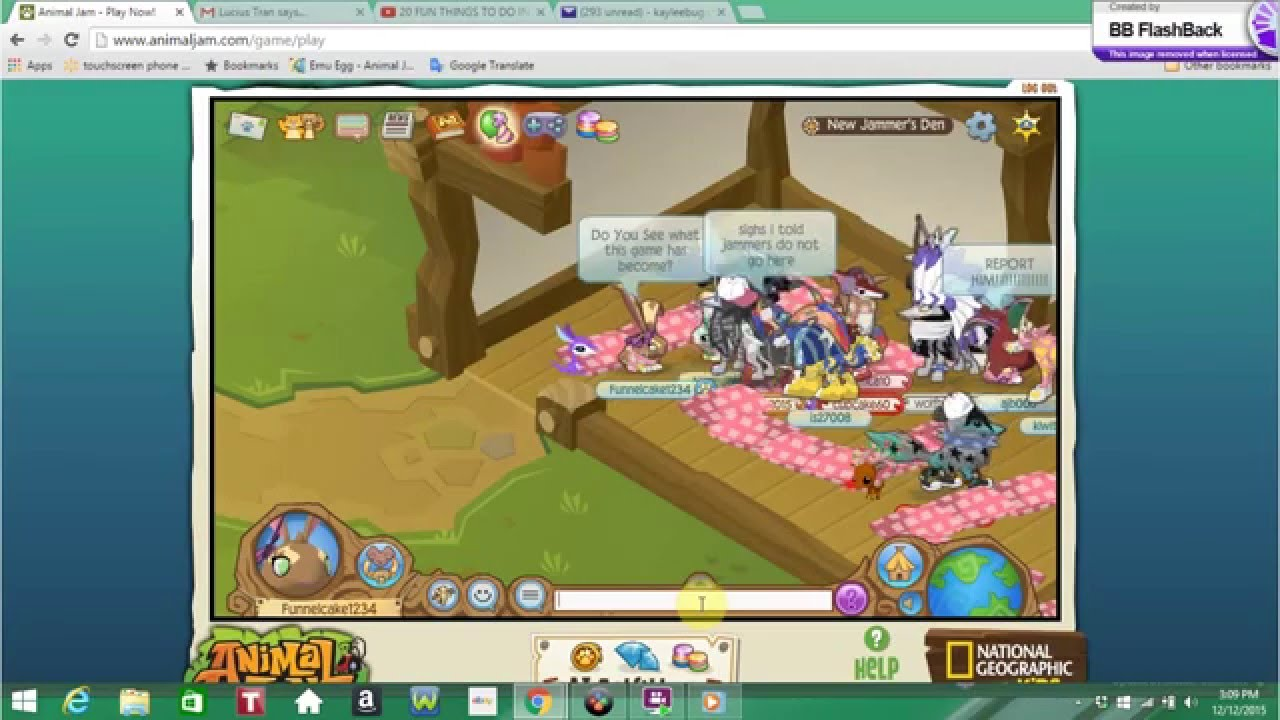animal jam how to make the new jammer leave