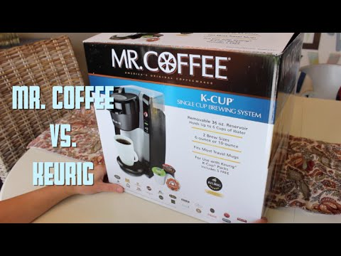 Mr Coffee K Cup Single Cup Brewing System Unboxingreviewin Use