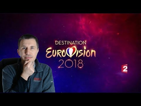 Destination Eurovision 2018 Semi Final 2 - Reaction (Eurovision 2018)