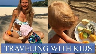 TRAVELING WITH KIDS - EASY AND RELAXED - JETLAG, PLAY, WHAT TO BRING