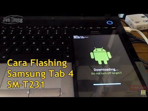 cara-flashing-samsung-tab-4-sm-t231