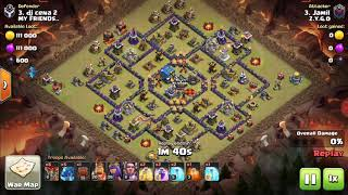 How to restrict electro dragon attack to do 3 star attack on your base