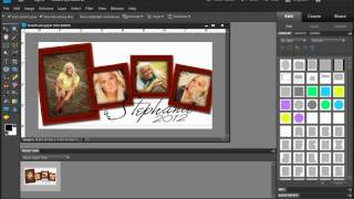 Photoshop Elements - Creating Wood Picture Frames