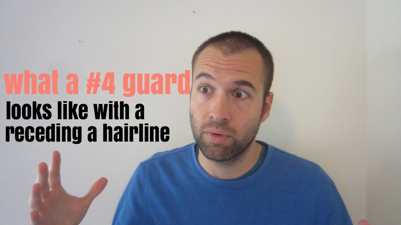 What A 4 Guard Buzz Cut Looks Like With A Receding